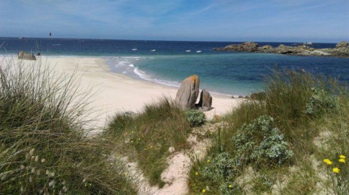La plage des Amiets - Cléder